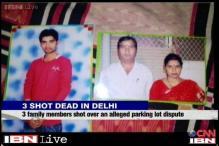 Delhi: 3 members of family shot dead over parking lot dispute