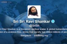 Sri Sri Ravi Shankar holds first Twitter town hall, Bollywood stars ask spiritual questions