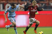 AC Milan held by Torino, Cagliari upset Fiorentina in Italy