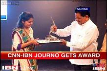 CNN-IBN journalist wins Laadli award for gender sensitivity