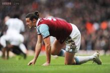 West Ham's Andy Carroll ready to fight for place after ban