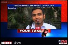 Watch: Bangaloreans react to Shinde's remark on media