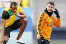 Usain Bolt, Cristiano Ronaldo fighting for Laureus World Sports Awards