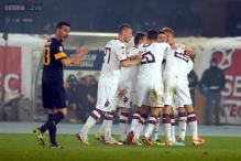 Torino beat Verona 3-1 to boost European hopes