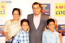 Snapshot: Meet Chetan Bhagat's twin sons Ishaan and Shyam