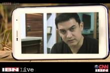 CJ Show: Actor Aamir Khan's message on One Billion Rising movement