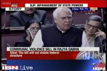 Anti-Communal Violence Bill deferred after uproar in Rajya Sabha