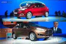 Auto Expo 2014: Ford unveils new Fiesta, Figo Concept sedans