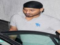 Photos: Harbhajan Singh and Geeta Basra step out for a night in town