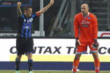 Serie A: Napoli fall to surprise 3-0 defeat at Atalanta