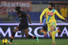 Gervinho double helps Roma down Napoli in thriller