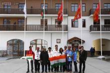 India completes Olympic return with Sochi flag raising