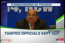 N Ramachandran elected as IOA president