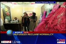 Watch: Wedding salon helps Syrian refugees in Jordan reclaim normalcy