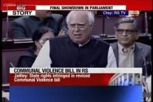 Watch: Protests in Rajya Sabha as Sibal mentions 2002 riots during debate