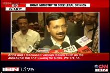 Kejriwal discusses various issues on Jan Lokpal Bill with Anna