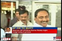Andhra Congress split; only 2 ministers back Kiran Reddy on Telangana