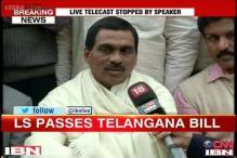 Seemandhra MP quits in protest against Telangana Bill