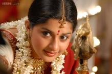 Actress Meera Jasmine marries IT professional Anil John