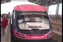 India's first monorail inaugurated in Mumbai