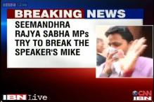Watch: MPs come out coughing as Rajagopal uses pepper spray in LS