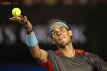Rafael Nadal is cautious in return following back injury