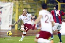 Roma beat Bologna 1-0 to close gap on Juventus