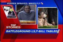 News 360: MP uses pepper spray in LS as Shinde tables Telangana Bill
