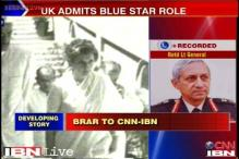 Not aware of any advice by UK on Operation Bluestar: Lt Gen Brar