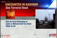 J&K: One terrorist killed in encounter with security forces