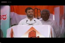 Karnataka: Rahul woos women voters, promises empowerment
