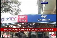 Mumbaikars queue up to take their first ride on monorail