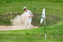 Simon Dyson leads Tshwane Open after play suspended