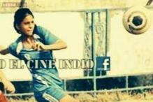 Snapshot: Shah Rukh Khan posts photo on Facebook of daughter Suhana playing football