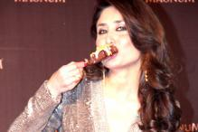 Sweet treat! Kareena Kapoor tucks into ice-cream in style