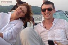 Hollywood actress Susan Sarandon seen holidaying in Goa with partner Jonathan Bricklin