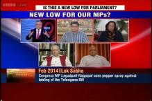 MP uses pepper spray: Is this a new low for Parliament?