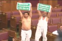 UP Assembly session begins amid din, MLAs go shirtless
