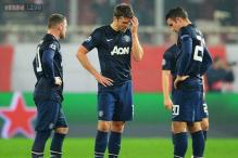 Manchester United lose 2-0 to Olympiakos in Champions League