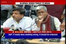 AAP blames news channels, defends Arvind Kejriwal's paid media remark