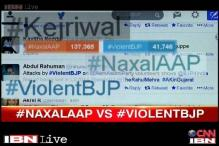 After street fights, BJP and AAP take their battle to social media