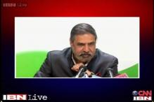 Congress leader Anand Sharma refuses to contest from Hamirpur