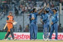 World T20: Sri Lanka hammer Netherlands by nine wickets