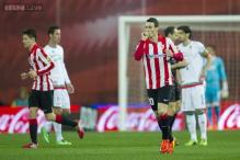 Aritz Aduriz nets three in Athletic Bilbao's 4-0 rout of Granada