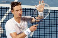 Berdych downs Dolgopolov to reach Miami semis
