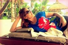 Snapshot: Unlike her 'Humshakals' co-stars, Bipasha Basu spends quality time alone in Mauritius