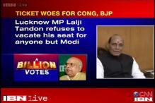 Rajnath Singh eyes Lucknow, Lalji Tandon says will leave seat for Modi
