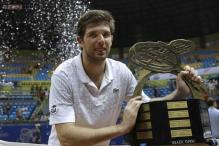 Federico Delbonis wins 1st ATP title at Brazil Open