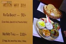 Election special menu: NaMo Thali, RaGa Basket
