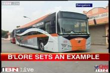 India's first electric bus starts running in Bangalore